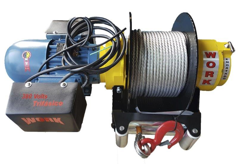 Guinchos elétricos industriais